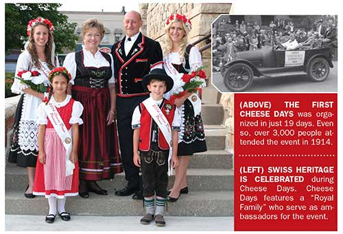 Green County Cheese Days royalty