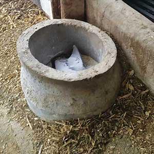 concrete pipe mineral feeder