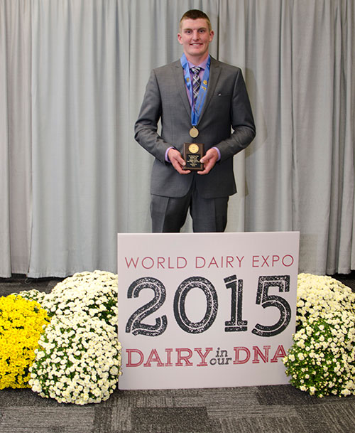 Ben Powers, High Individual 4-H Contest