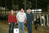 Jim Engle is ABS semen and tank winner