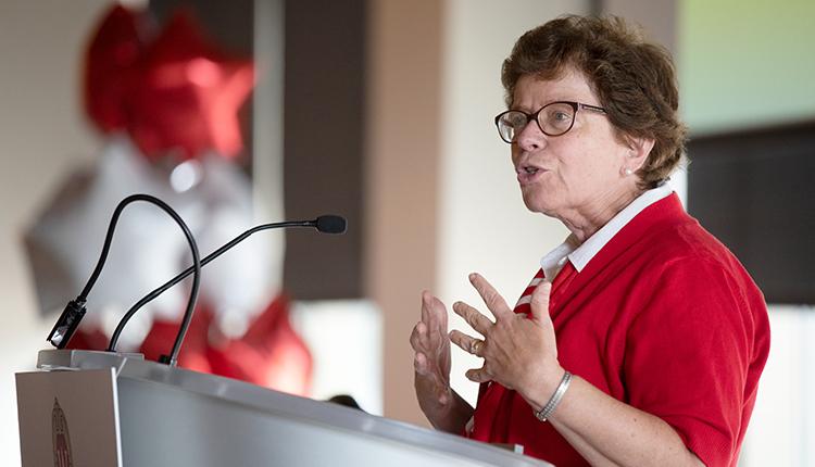 Chancellor Rebecca Blank