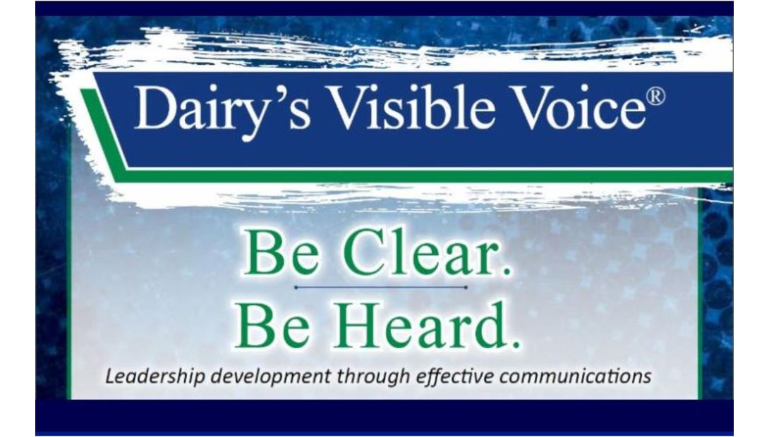 Dairy visible voice