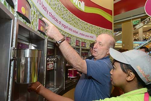 frozen yogurt shop in Dubai