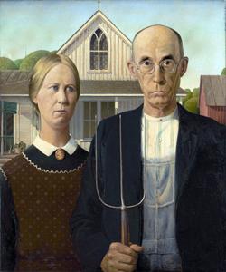 American Gothic image