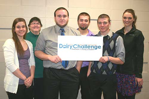 Lakeshore Technocal College Dairy Challenge team
