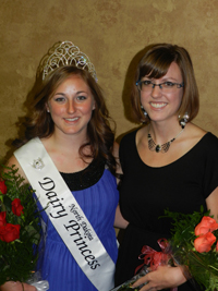 North Dakota Dairy Princess and runner up