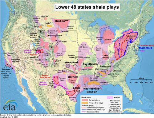 Oil Production Surge Providing No Fuel Relief - Us oil production map
