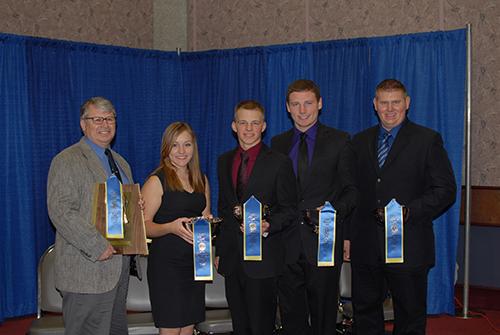 Ohio State University dairy judging team