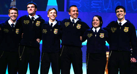 2011-2012 National FFA Officer Team