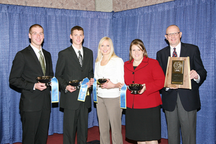 Minnesota judging team