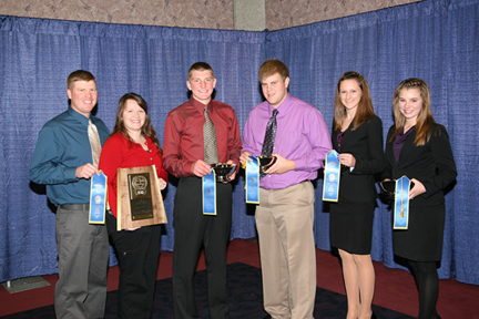 Wisconsin judging team
